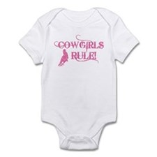 Cowgirls Rule Infant Bodysuit