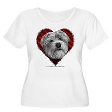 Shih Tzu-Terrier Valentine T-Shirt