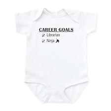 Librarian Career Goals Infant Bodysuit