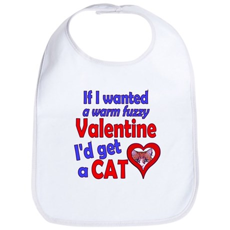 Cat Funny Anti-Valentine Bib