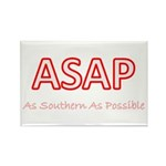 As Southern As Possible Rectangle Magnet (100 pack