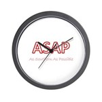As Southern As Possible Wall Clock