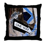 """Stolen Away On 55th & 3rd"" Throw Pillow"