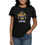 Bechler Family Crest Women's Dark T-Shirt