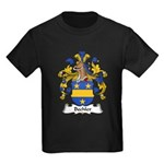 Bechler Family Crest Kids Dark T-Shirt