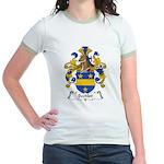 Bechler Family Crest Jr. Ringer T-Shirt