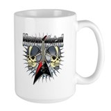 Heavy Metal Skull Mug