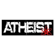 Atheist Car Sticker