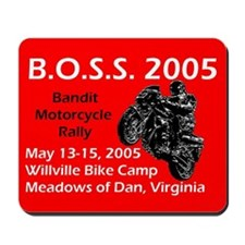 Boss 05 Mousepad