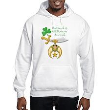Shriners are Irish Hoodie