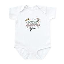 Scrap Happens Infant Bodysuit
