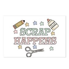 Scrap Happens Postcards (Package of 8)