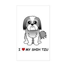 Shih Tzu Rectangle Decal
