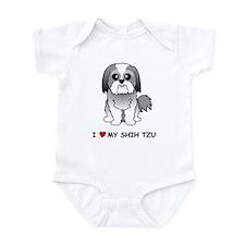 Shih Tzu Infant Bodysuit