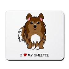 Sable Sheltie Mousepad
