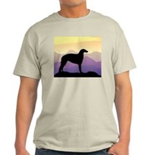Purple Mountain Borzoi T-Shirt