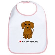 Smooth Dachshund Bib