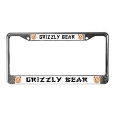 Grizzly Bears License Plate Frame