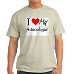 I Heart My Astacologist Light T-Shirt