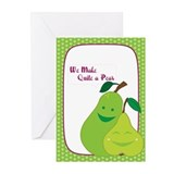 Quite a Pear Greeting Cards (Pk of 10)