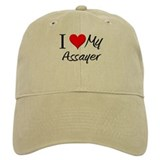 I Heart My Assayer Baseball Cap