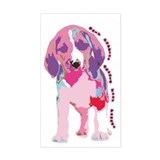 Only Puppies Should Fear Poun Sticker (Rectangular