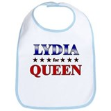 LYDIA for queen Bib