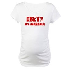 Obey the Weimaraner Shirt