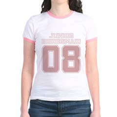 08 Junior Bridesmaid Jr. Ringer T-Shirt