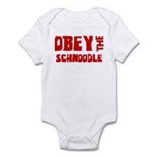 Obey the Schnoodle Infant Bodysuit