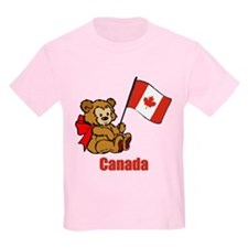 Canada Teddy Bear T-Shirt