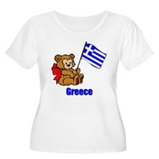 Greece Teddy Bear T-Shirt