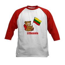 Lithuania Teddy Bear Tee