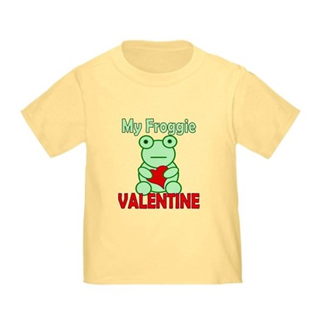 Frog Valentine Toddler T-Shirt