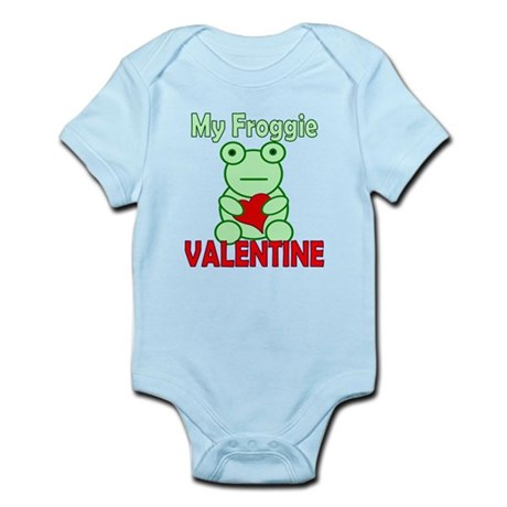 Frog Valentine Infant Bodysuit