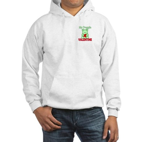 Frog Valentine Hooded Sweatshirt