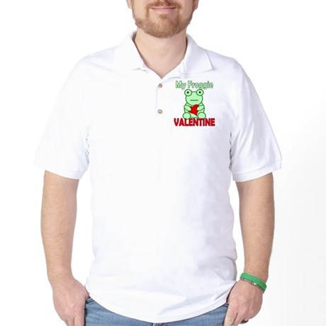 Frog Valentine Golf Shirt