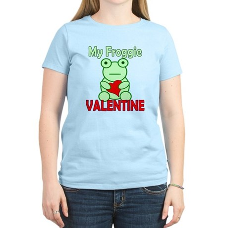Frog Valentine Women's Light T-Shirt