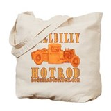 HillBilly HotRod Tote Bag