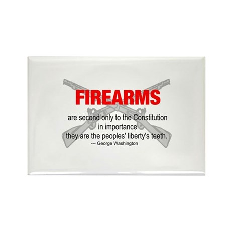 Anti Gun Control Rectangle Magnet