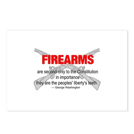 Anti Gun Control Postcards (Package of 8)
