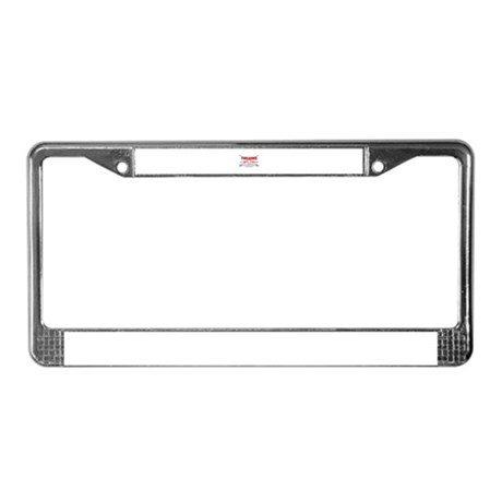 Anti Gun Control License Plate Frame