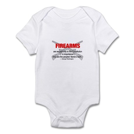 Anti Gun Control Infant Bodysuit