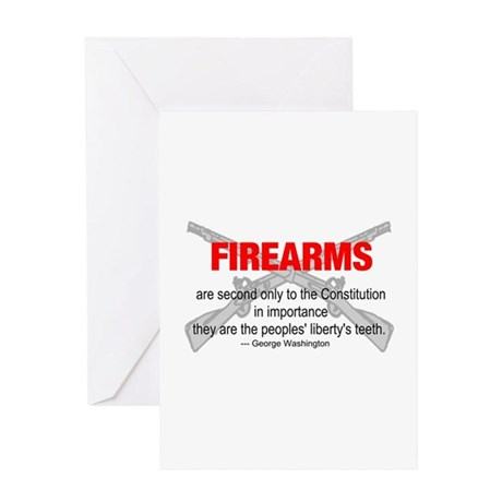 Anti Gun Control Greeting Card