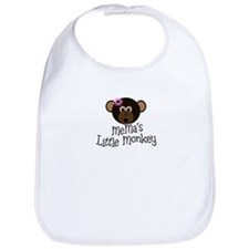 MeMa's Little Monkey GIRL Bib
