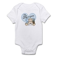 My Heart Belongs to MeMa BOY Infant Bodysuit