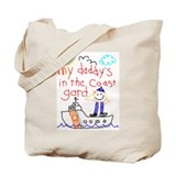 Coast Guard Daddy Tote Bag