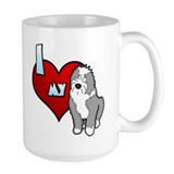 Love Old English Sheepdog Mug