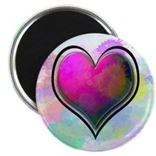 "Splattered Heart 2.25"" Magnet (100 pack)"