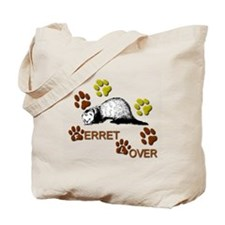 """Ferret Lover"" Tote Bag"